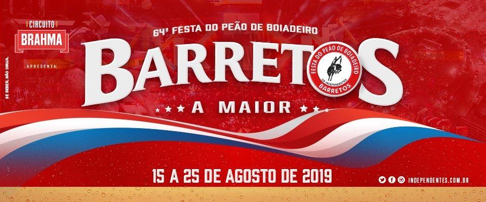 64ª Festa do Peão de Boiadeiro de Barretos 2019