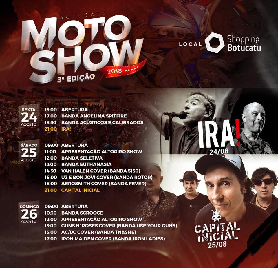 3ª Botucatu Moto Show